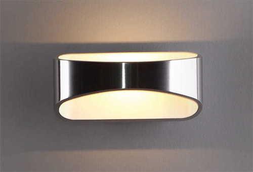 HUGO W0053 Wandleuchte silber Max Light