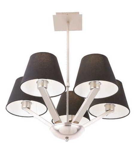 ORLANDO Hängeleuchte schwarz 5103 / 5A BK / NM Max Light