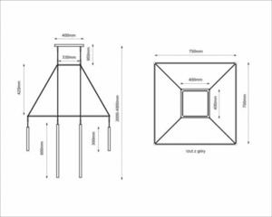 Alha H 9010- SHILO-DOHAR Hängelampe small 5