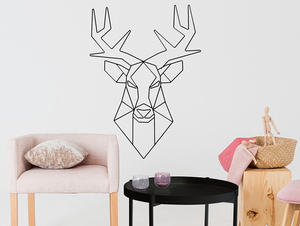 Wallart DEER small 1