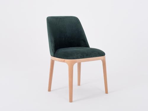 Stuhl für Bira LULU Buche, Avocado