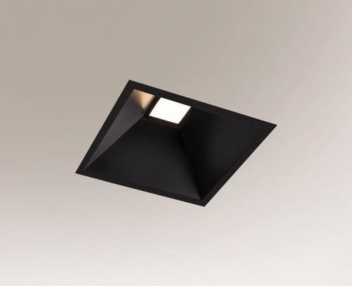 Eine quadratische Einbauleuchte Shilo Ube Il IP54 8050