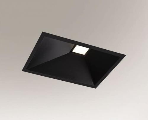 Eine rechteckige Einbauleuchte Shilo Ube Il IP54 8051