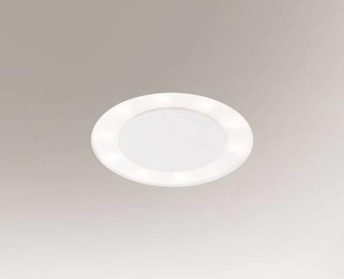 Einbauleuchte BANDO 3320-B Shilo 6xE27 9W Weiß