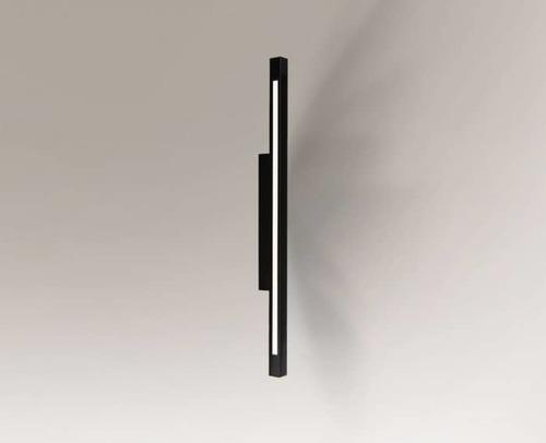 Wandleuchte schwarz länglich Shilo OTARU 4477 LED austauschbar