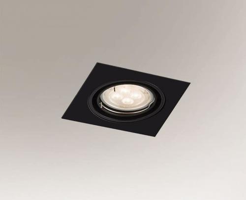 Deckenbeleuchtungspunktbefestigung OMURA H 3342 GU10 50W quadratisch
