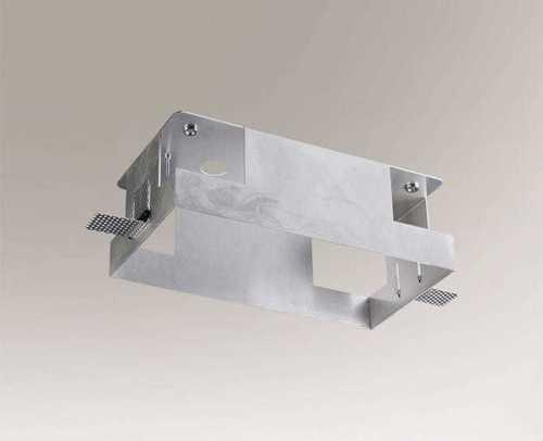Aluminium-Montagebox KOMORO 3340 Zweipunktleuchte