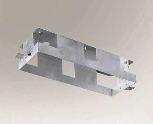 Montagebox KOMORO 3341 Aluminium Dreifachlampe