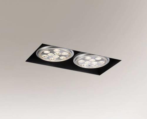 Downlight-Lampe YATOMI 3331-B GU10 15W, ohne Montagebox