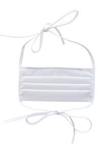 Baumwollschutzmaske an Trägern 10 Stück blau small 5