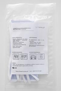 Baumwollschutzmaske an Trägern 10 Stück blau small 6