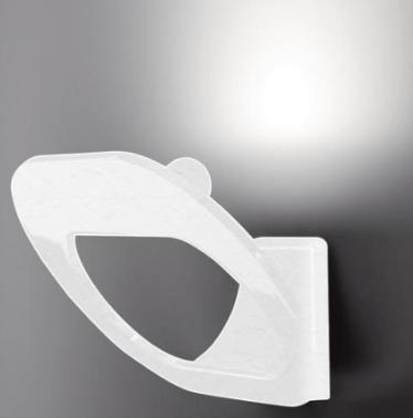 Fabbian DOMINA weiße Wandleuchte