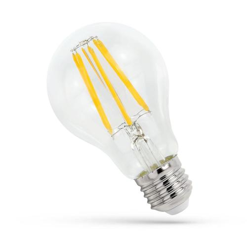 LED Gls E-27 230v 11w Zahnrad Ww Clear Spectrum