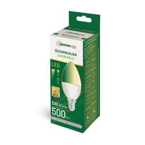 LED Candlestick E-14 230v 6w Nw Dimmbares Spektrum small 1