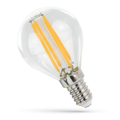 LED-Kugel E-14 230v 6w Zahnrad Ww Clear Spectrum