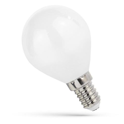 LED-Kugel E-14 230v 6w Zahnrad Ww Milchspektrum