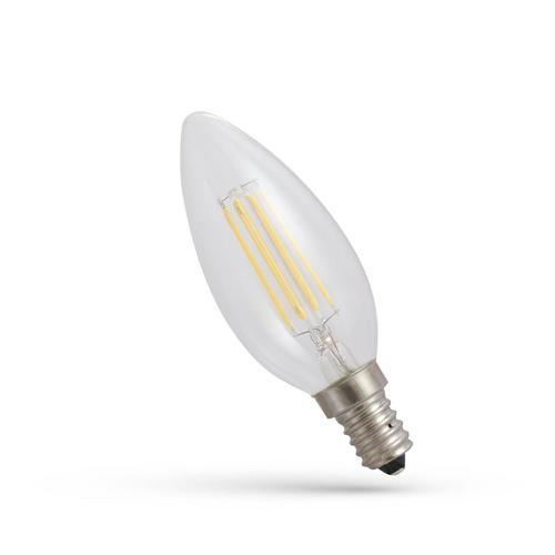 LED Candlestick E-14 230v 6w Zahnrad Nw Clear Spectrum