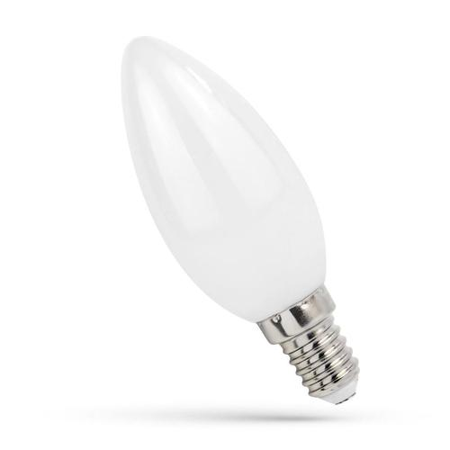 Led Kerzenhalter E-14 230v 6w Zahnrad Nw Milchspektrum
