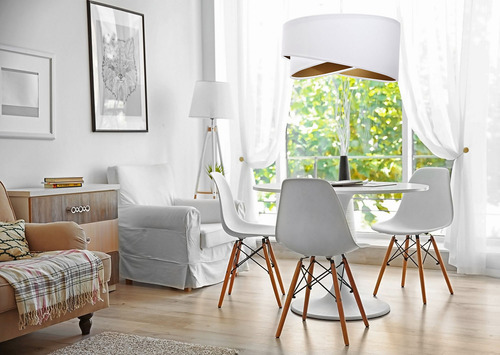 Weiße Eleganzlampe 60W E27 hängend, Velours, Gold