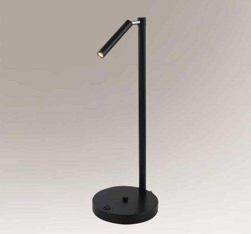 Moderne, modernistische SHILO KOSAME Stehlampe 7874