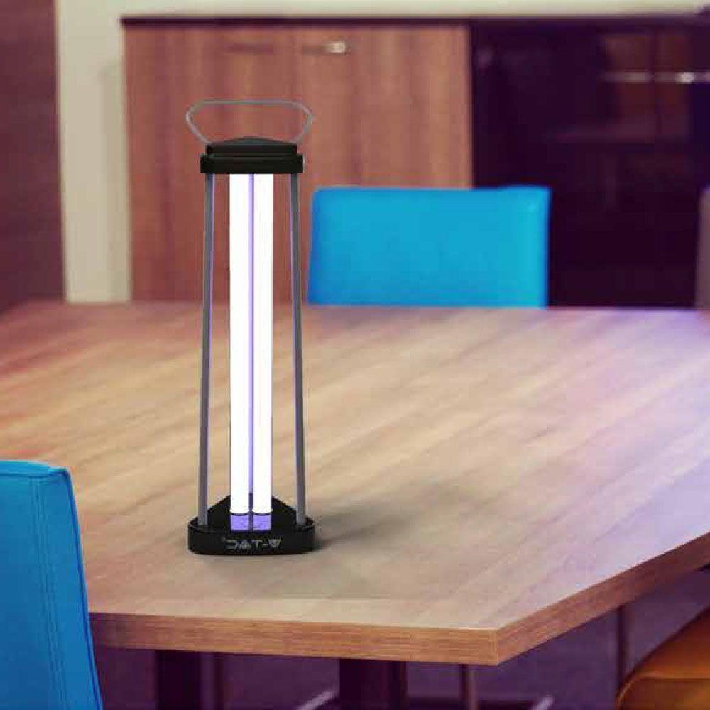 Viruzide keimtötende Lampe 38W 60m2 UVC OZON V-TAC VT-3238