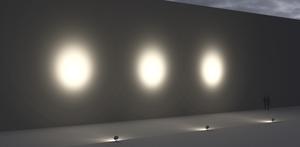 Großer Scheinwerfer Platek SUN - 6 OCB LED 3000K 14 ° small 7