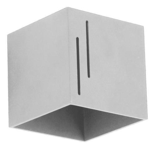 Design Wandleuchte Quado Modern B Grau