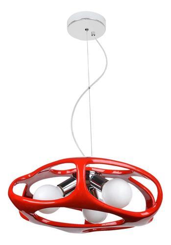 Moderne Amano Red Pendelleuchte