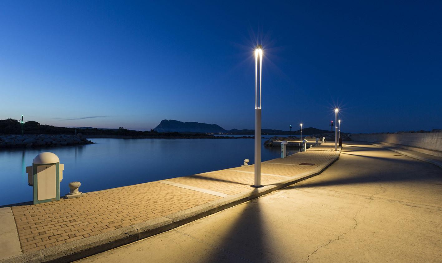 Platek Gartenlaterne - TRIS COB LED 3000K