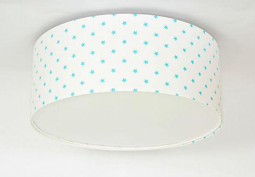 Luminanz E27 60W LED weiß / blau LED Deckenleuchte für Kinder