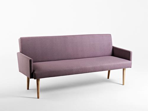 REDEN 3-Sitzer-Sofa - Amethyst (ml61), natürlich