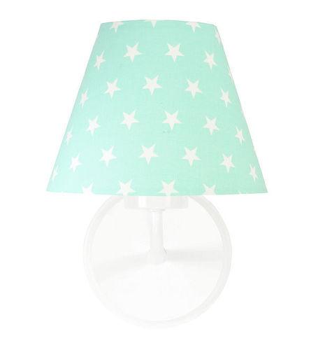Wandleuchte Minze Raggio E27 60W weiße Sterne