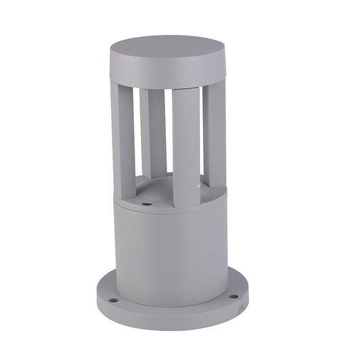 Windmühle Mini Gartenlampe grau