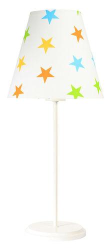 Schreibtischlampe Ombrello 60W E27 50cm bunte Sterne