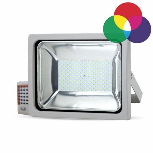 V-TAC 30W RGB LED-Projektor, Funkfernbedienung, graues Gehäuse, 2400 lm VT-4732