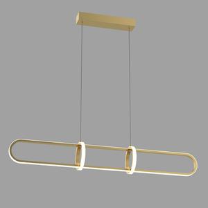 Cerrila LED Gold Pendelleuchte small 1