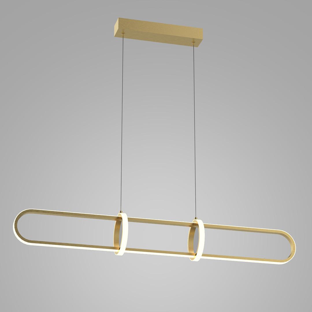 Cerrila LED Gold Pendelleuchte
