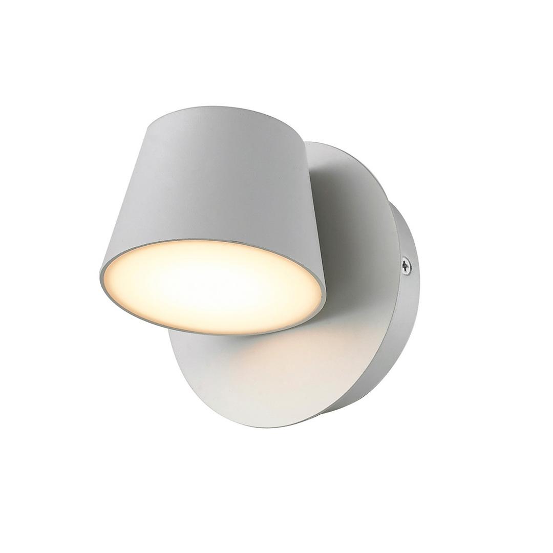 Weiße moderne Kuola LED Wandleuchte
