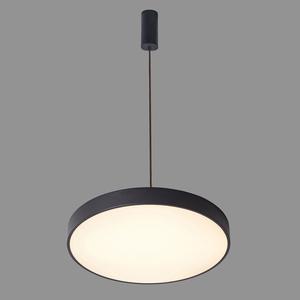 Schwarze Orbital LED Pendelleuchte small 1