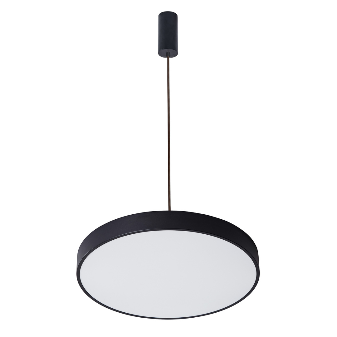 Schwarze Orbital LED Pendelleuchte