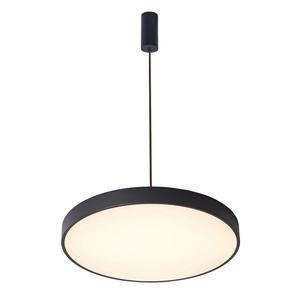 Schwarze Orbital LED Pendelleuchte small 2