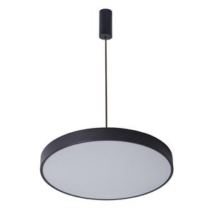 Schwarze Orbital LED Pendelleuchte small 0