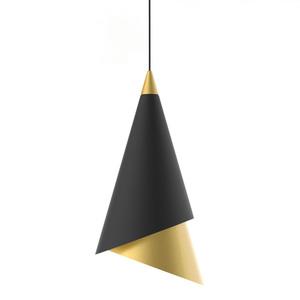 Schwarze Raalto LED Pendelleuchte small 0