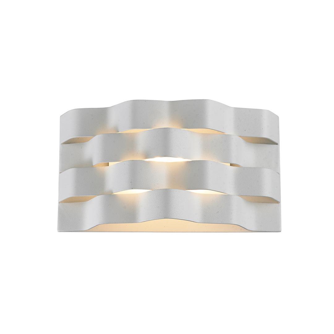 Weiße moderne Verigo LED Wandleuchte