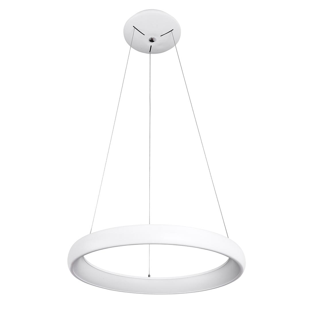Weiße Alessia LED Pendelleuchte