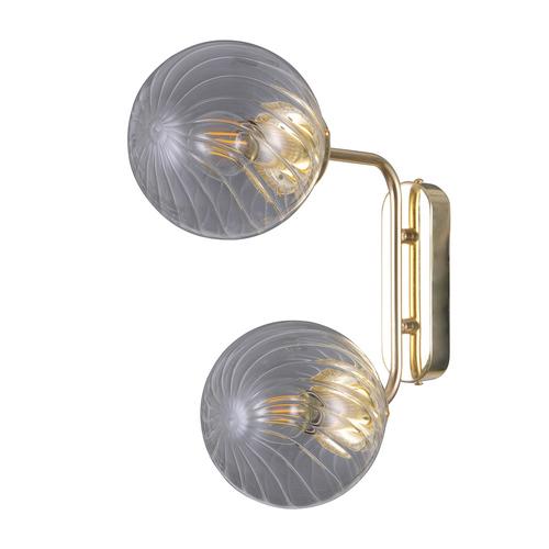 Gold moderne Wandleuchte Bartolo E14 2-Birne