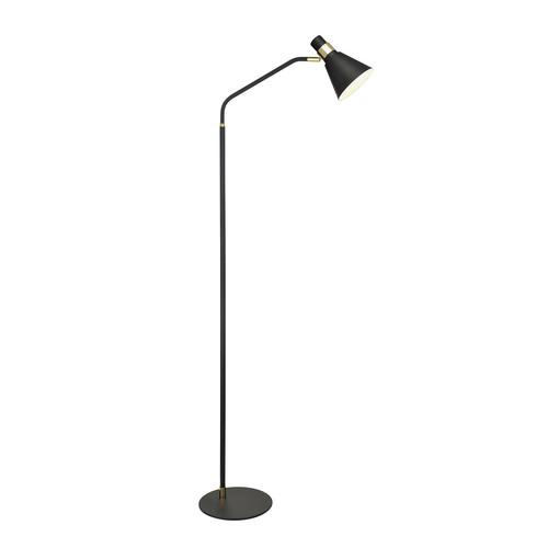 Schwarze Biagio E14 Stehlampe