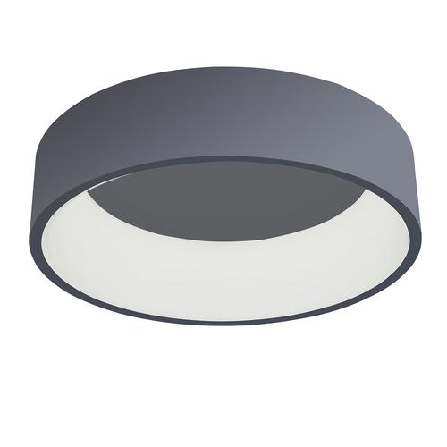 Moderne graue Chiara LED Deckenleuchte