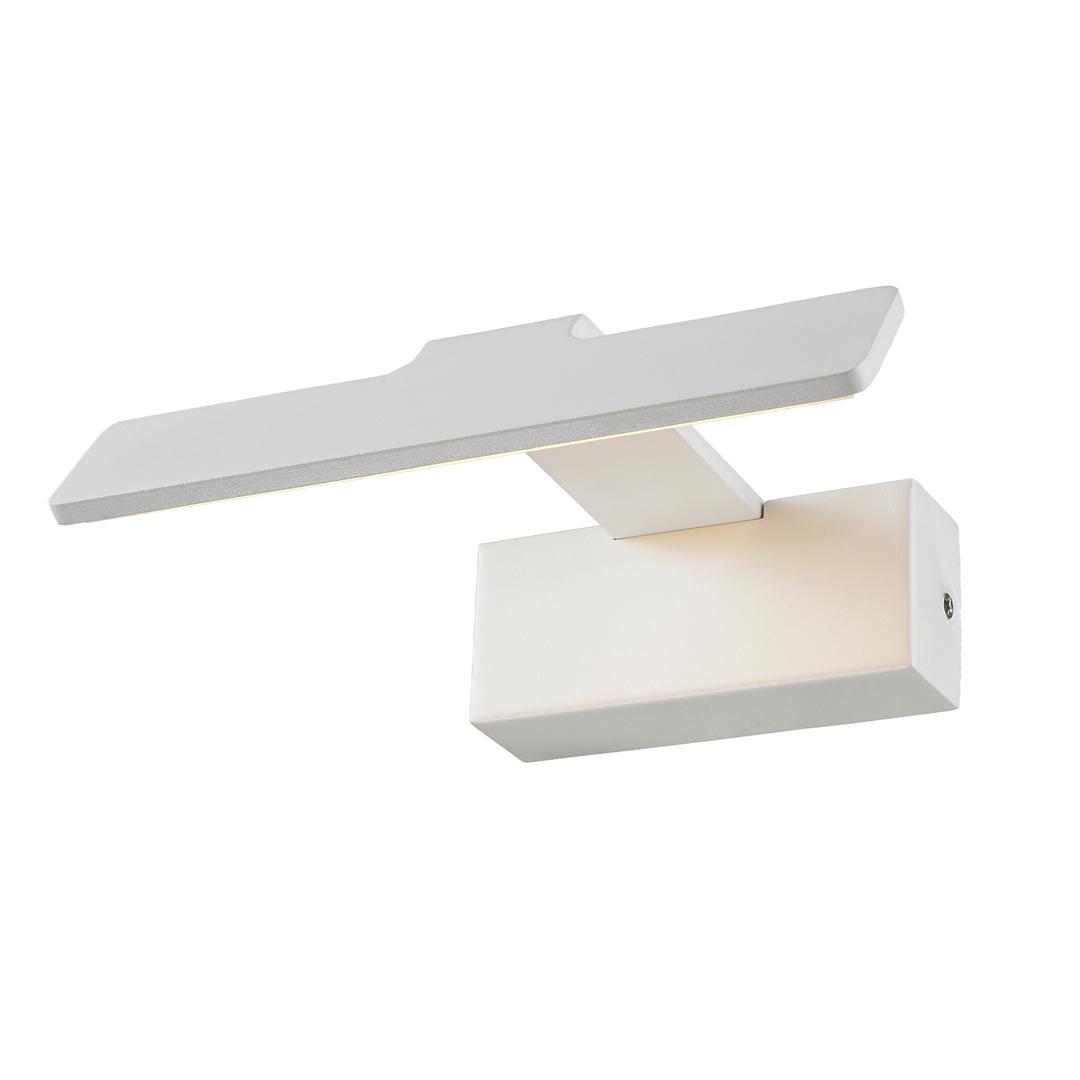 Moderne weiße Corto LED Wandleuchte