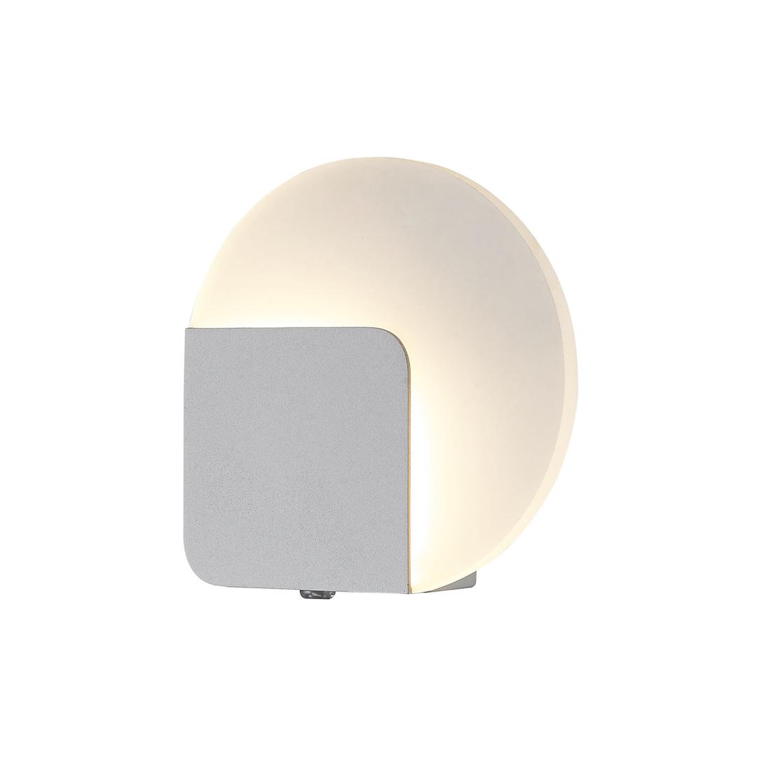 Weiße moderne Lorelei LED Wandleuchte